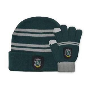 Harry Potter set bonnet et gants enfant Slytherin conducteur ... 55386c61cf1
