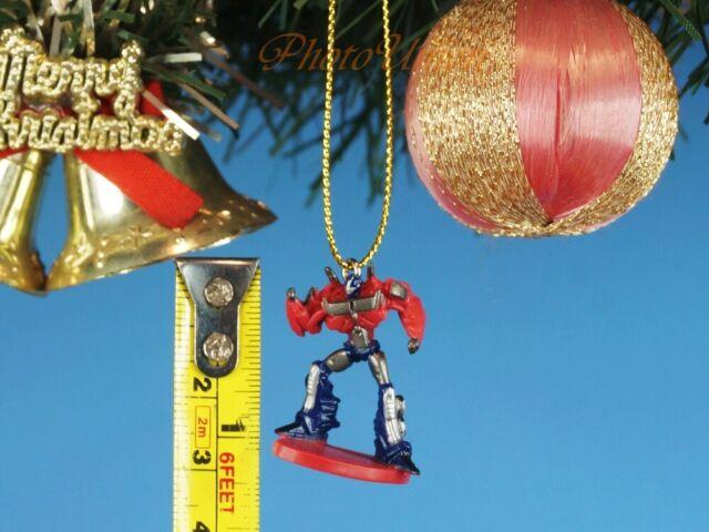Set of 6 Hasbro Transformers Autobots Customizable Hanging Christmas Ornaments