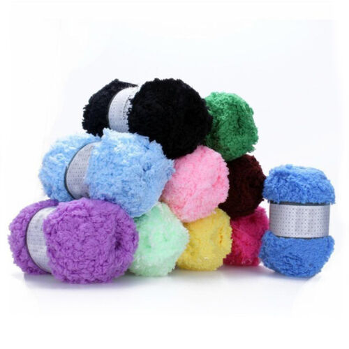 AM/_ Baby Warm Soft Chenille Knitting Wool Craft for Towel Coat Sweater DIY Tool