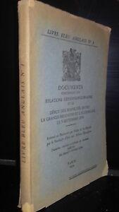 Libro-Azul-Ingles-N-1-Documentos-En-Relaciones-Germano-Polonesas-Paris-1939