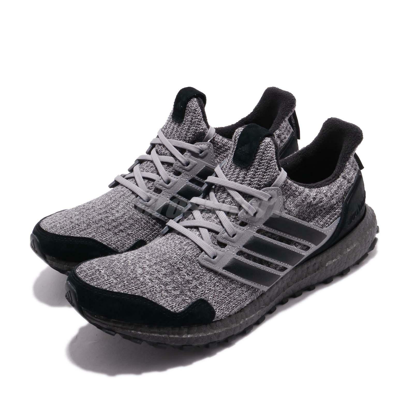 Adidas UltraBOOST Game Of Thrones House Stark negro gris Men Running zapatos EE3706