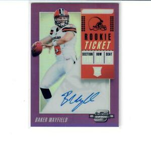 2018-PANINI-CONTENDERS-OPTIC-PURPLE-BAKER-MAYFIELD-RC-ROOKIE-AUTO-24-49