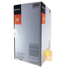 NEW BOXED SONY E 55-210mm F/4.5-6.3 OSS LENS / BLACK FOR a 6000 5100 6300