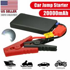 20000mah Car Jump Starter 12v Portable Charger Power Bank Battery Led Flashlight