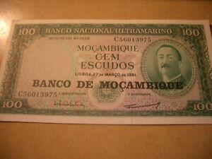 MOCAMBIQUE-BANKNOTE-100-ESCUDOS-UNC