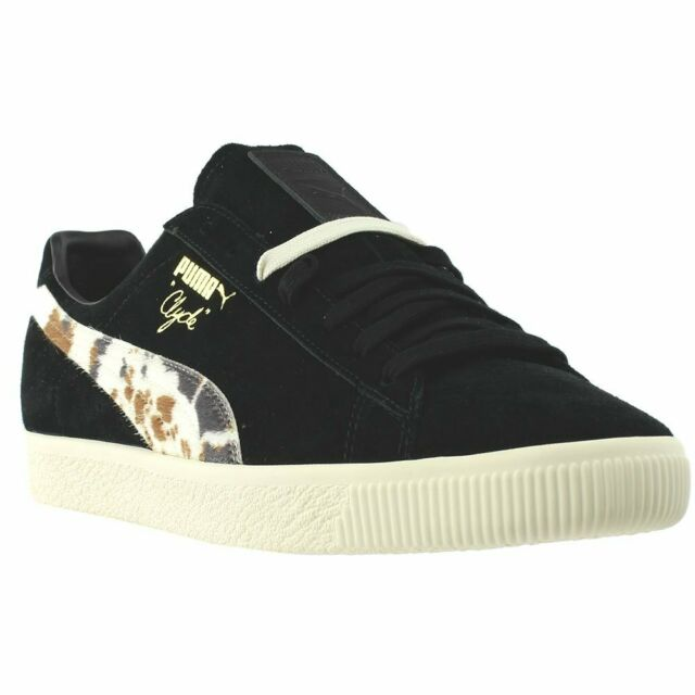 info pour 1afd3 8f508 Puma Clyde X Packer Casual Sneakers - Black - Mens