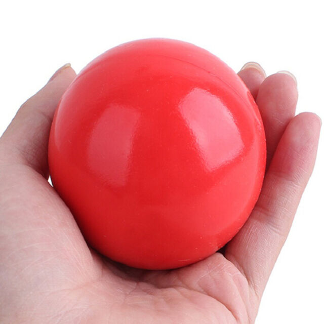 Indestructible Solid Rubber Ball Pet cat&Dog Training Chews Play Fetch Bite SP