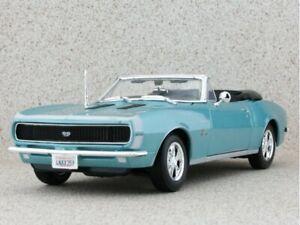 CHEVROLET Camaro SS 396 - 1967 - bluemetallic - Maisto 1:18
