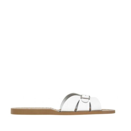 Salt Water Women/'s Classic Slide in White