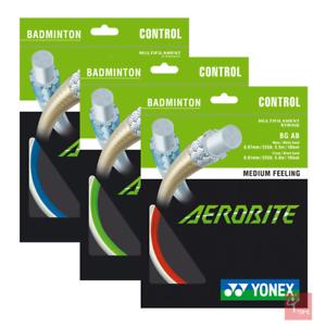 YONEX aerobite Badminton String Set (disponible en trois couleurs)  </span>