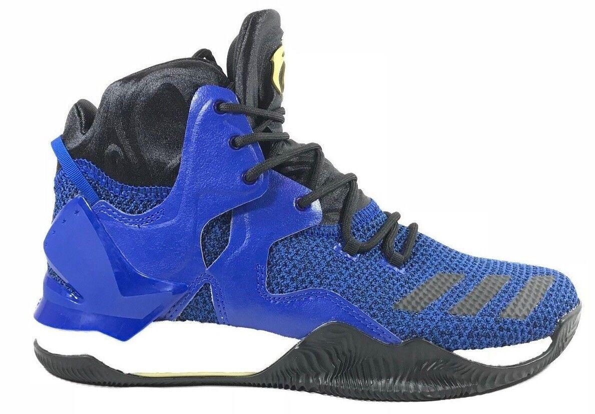 New Men's ADIDAS D ROSE 7 - BB8290 Basketball Derrick Rose Blue Black Basketball BB8290 Sneaker bf2b7f