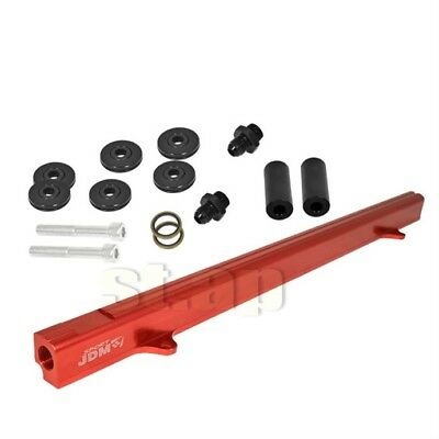 For R32 R33 R34 Rb25Det Rb25 Gts Aluminum Turbo Fuel Delivery Injection Rail Red