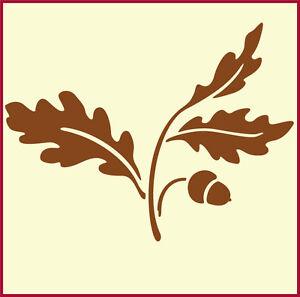 Oak Leaf And Acorn Drawing OAK LEAF AND ACORN 2 S...