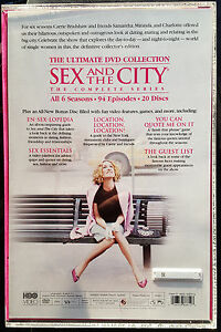 Sex and the city series blu ray