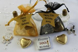 Details About 30th 40th 50th 60th 70th 80th Party Favours Special Birthday Gift Bags