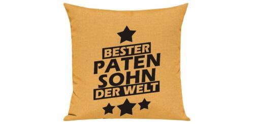 Sofa Kissen Bester Patensohn der Welt