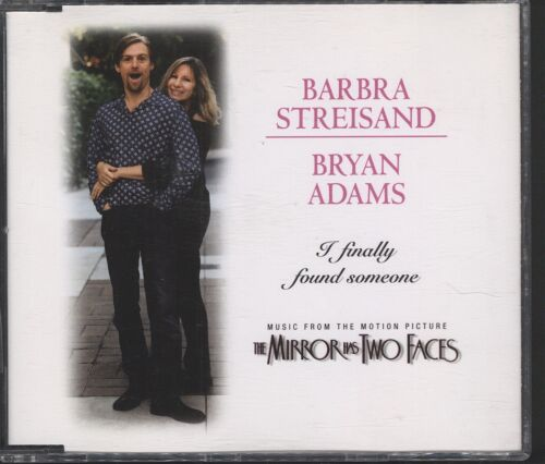 1 of 1 - Barbra Streisand, Bryan Adams - I Finally Found Someone CD (single)