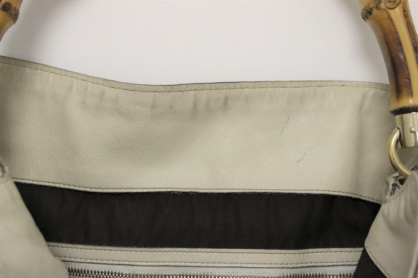 GUCCI Calfskin Peggy Bamboo Top Handle Hobo Bag -… - image 12