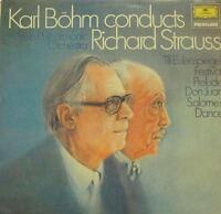Karl Bohm(Vinyl LP)Conducts Strauss-Deutsche Grammophon-2535 208-UK-Ex/Ex