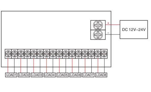 8-Circuit-Fuse-Module