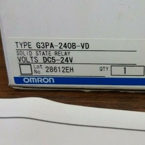 Omron G3PA-240B-VD Solid State Relay