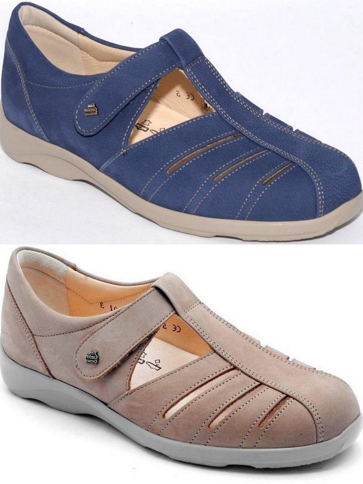 ordina ora i prezzi più bassi Finn Comfort cres-s Donna scarpe leather finncomfort Extra Extra Extra Wide Width  in vendita scontato del 70%
