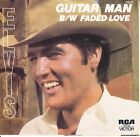"ELVIS PRESLEY Guitar Man PICTURE SLEEVE 7"" 45 rpm record RCA Australia Pressing"
