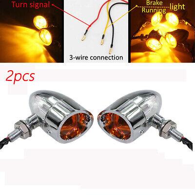 2x Motorcycle LED Turn Signal Light for Kawasaki Z650 750 800 900 1000 ZZR600
