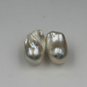22x13-mm-White-Keshi-Baroque-Pearl-Earrings-Sterling-silver-leverback