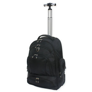 ARIANA WHEELED BACKPACK RUCKSACK LAPTOP TROLLEY CABIN TRAVEL CAMPING BAG - RT633
