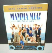 Mamma Mia Here We Go Again Blu Ray Dvd 2018 For Sale Online Ebay