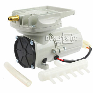 Dc 12v 70 Lpm 35w Permanent Air Compressor Pump Fish Tank Pond Aquarium Aerator Ebay