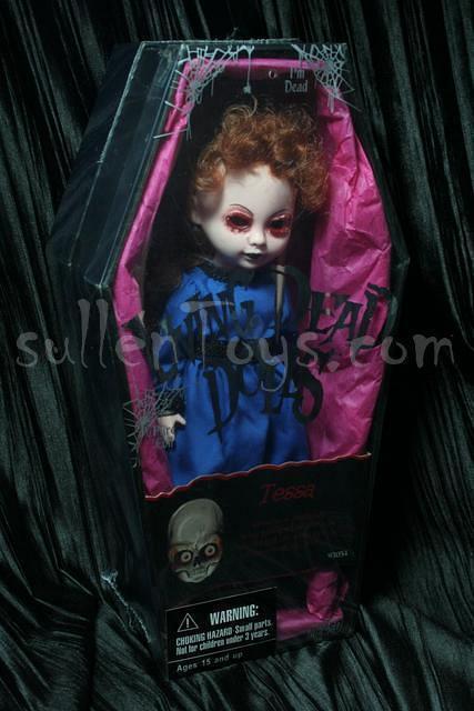 Living Dead Dolls Tessa Series 12 Original Gouged Out Eyes Mezco LDD sullenToys