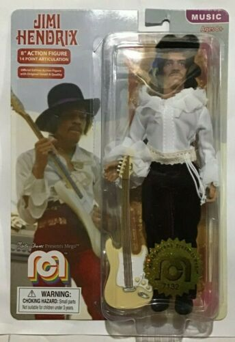 "Jimi Hendrix Miami Pop 8/"" Action Figure Mego-Neuf"