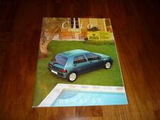 Renault Clio Prospekt 10/1995