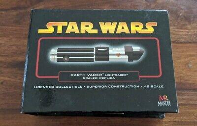 Darth Vader Lightsaber .45 Scale STAR WARS Master Replicas SW-316