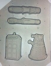 Flexible Resin Molds Police Call Phone Booth Sonic Screwdrivers Robot