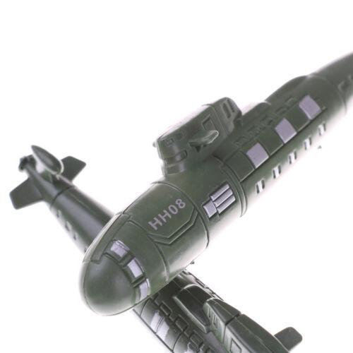2 STÜCKE Weltkrieg krieg militär u-boot modell sand szene modell spielzeug M  I1