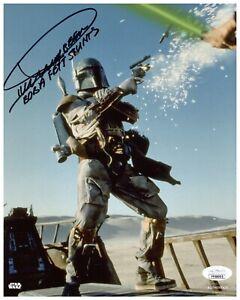 """Dickey Beer Autograph Signed 8x10 Photo - Star Wars """"Boba Fett Stunts"""" (JSA COA)"""