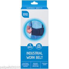 Smart Sense Adjustable Industrial Work Belt, One Size, 1 Brace