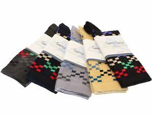 Sierra-Socks-Women-039-s-Cotton-Geometric-Pattern-Crew-2-Pair-Pack-Sock-W221SQ