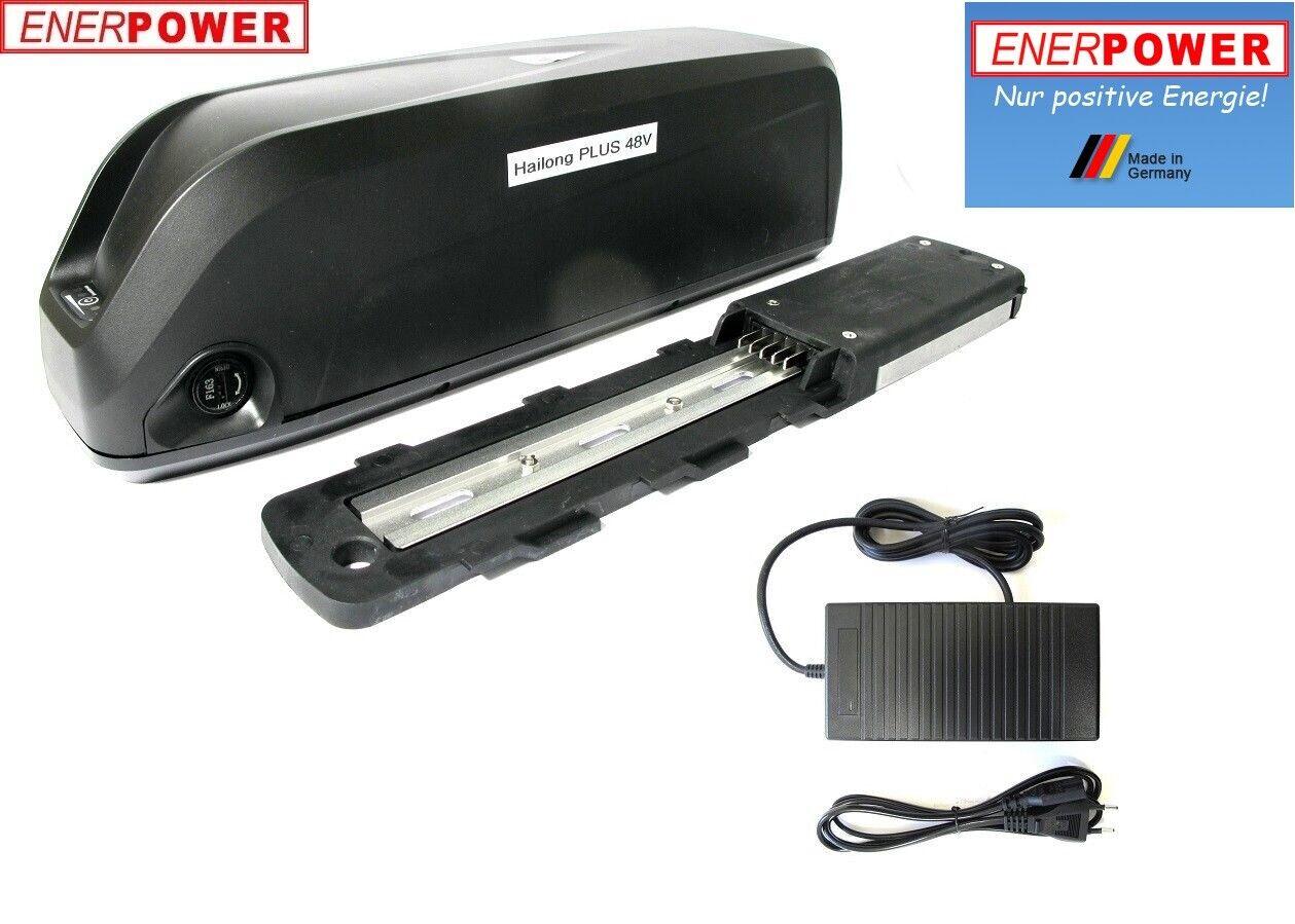 Enerpower hailong plus marco batería Li-ion 48v 17,50ah ga ebike + Cochegador 2a