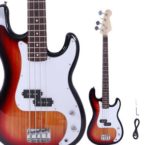new professional golden 4 string electric bass guitar ebay. Black Bedroom Furniture Sets. Home Design Ideas