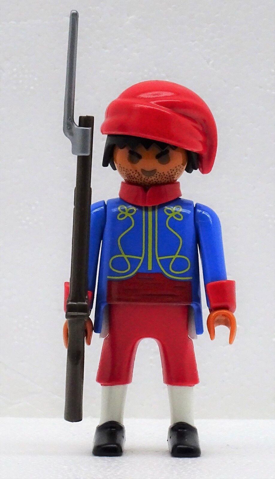 Zouave Zouave Zouave 4 SOLDATS  Officier B Playmobil citoyen du Nord contre sudistes ACW f5084f