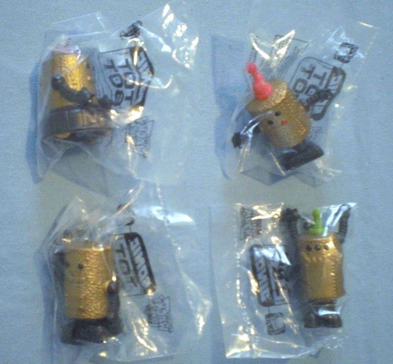 SONIC 1998 - Tot Bots - Complete Set of 4 MIP