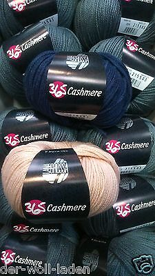 Wolle Kreativ 46 zartblau 50 g Lana Grossa 365 Cashmere Fb