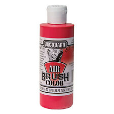 Jacquard Air Brush Colours Paint for Shoes / Sneakers - Opaque Red - 4oz