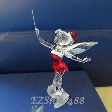 Swarovski Crystal Figurine #1143621 Christmas Tinker Bell 2012 RARE New/box
