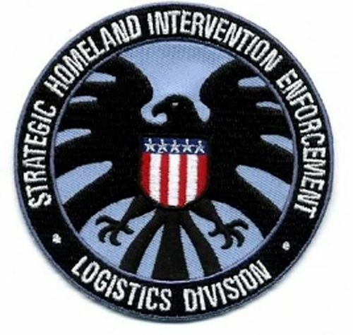 """AvengersAgents of SHIELD TV Series Logo 3.5/""""  Patch USA Mailed IMPA-1001"""