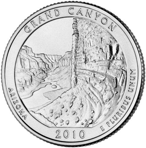 2010 America The Beautiful Grand Canyon AZ BU P/&D Set